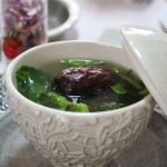 豚肉と棗の活血スープ
