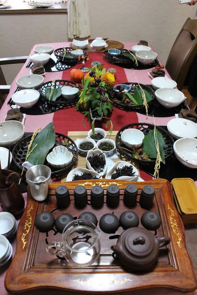 中国茶コラボ