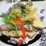 春真鯛 山菜のフリット